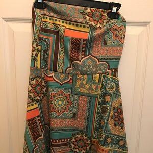 Juniors strapless short dress